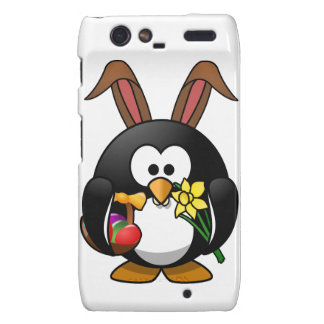 Easter Penguin Droid RAZR Cover