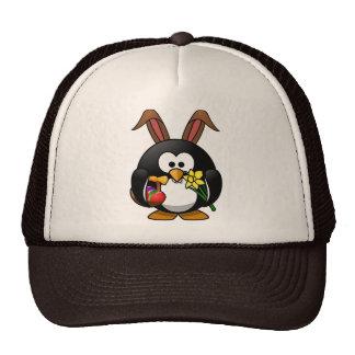 Easter Penguin Trucker Hats