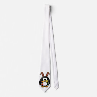 Easter Penguin Neck Tie