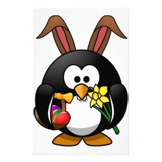 Easter Penguin Stationery
