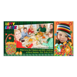 Easter Photo Cards: Easter Eggs & Bunnies