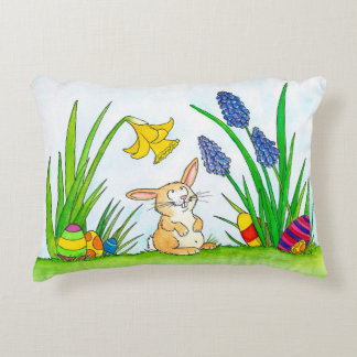 Easter pillow by Nicole Janes