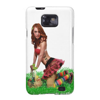 Easter Pin Up Samsung Galaxy SII Cover