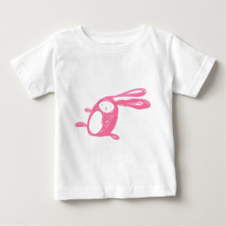Easter Pink Runing Bunny Baby T-Shirt