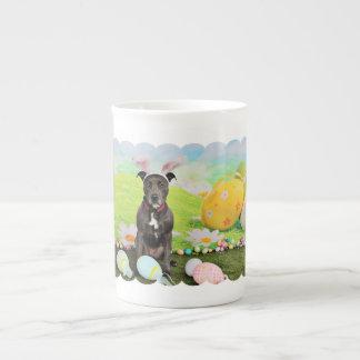 Easter - Pitbull  - Puddin Head Tea Cup