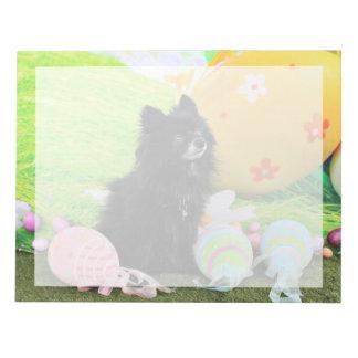 Easter - Pomeranian - Bear Notepads