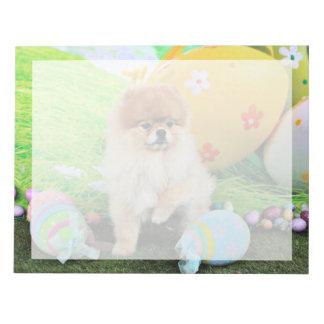 Easter - Pomeranian - Dexter Memo Note Pad