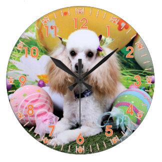 Easter - Poodle - Dolly Clocks