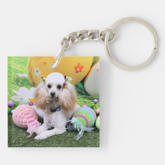 Easter - Poodle - Dolly Acrylic Keychain