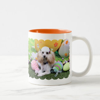 Easter - Poodle - Dolly Two-Tone Coffee Mug