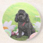 Easter - Poodle - Junior Coaster