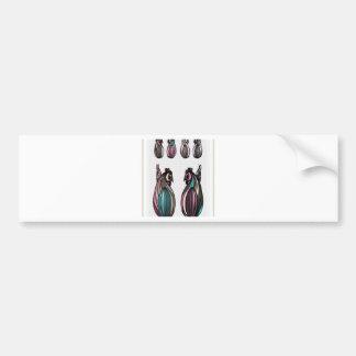 Easter postcard design bumper sticker