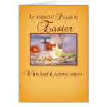 Easter Priest Appreciation Greeting Card