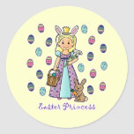 Easter Princess Sticker