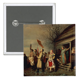 Easter Procession, 1861 Pinback Button