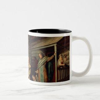 Easter Procession, 1861 Two-Tone Coffee Mug