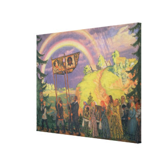 Easter Procession, 1915 Canvas Print