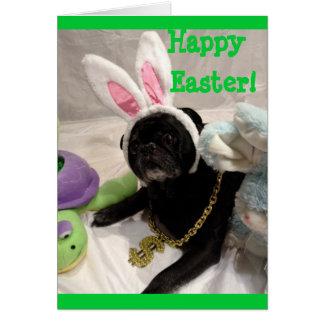 Easter Pug Card