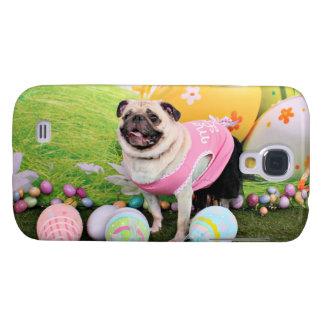 Easter - Pug -Hannah Samsung Galaxy S4 Covers