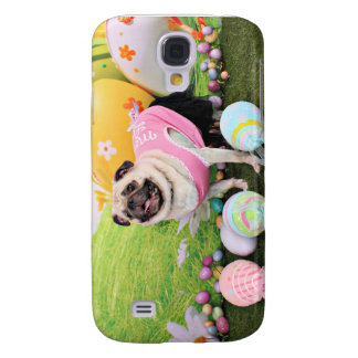 Easter - Pug -Hannah Samsung Galaxy S4 Cover