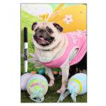 Easter - Pug -Hannah Dry-Erase Whiteboard