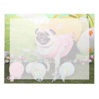 Easter - Pug -Hannah Memo Pads