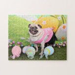 Easter - Pug -Hannah Puzzle