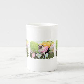 Easter - Pug -Hannah Tea Cup