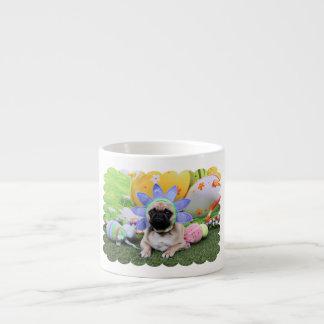 Easter - Pug - Louie Espresso Cup
