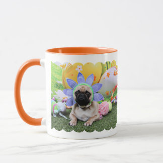 Easter - Pug - Louie Mug