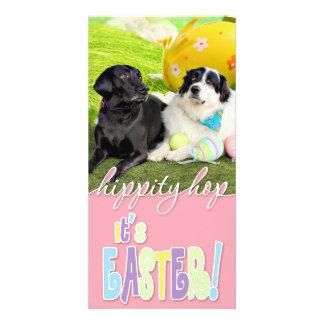 Easter - Pyrenees X - Tristyn CiCi - Labrador Custom Photo Card