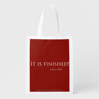 Easter Quotes Reusable Grocery Bag