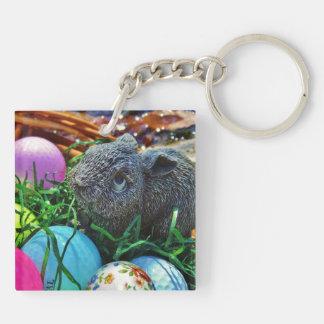 Easter Rabbit and golf ball basket Acrylic Key Chains