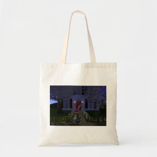 Easter Rabbit and House Tote Bag