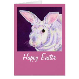 "Easter Rabbit Card - ""Mr. Personality"""