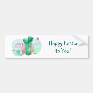 Easter Rabbit - For You! Bumper Sticker