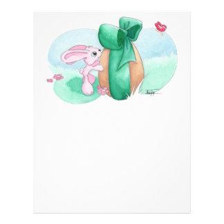 Easter Rabbit - For You! Letterhead