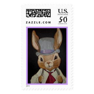 Easter Rabbit Gentleman Postage