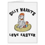 Easter Rabbit Love Easter Card