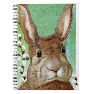 Easter Rabbit Notebook