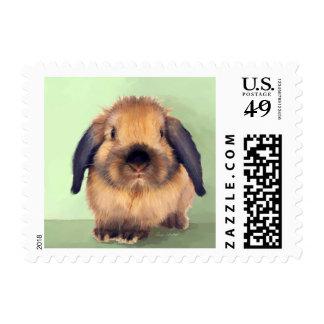 Easter Rabbit Postage