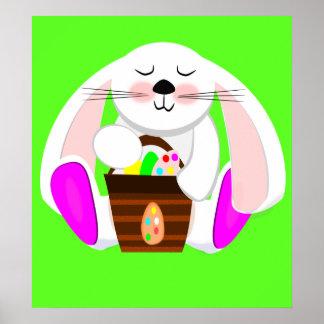 Easter Rabbit Poster