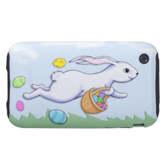 Easter Rabbit Run iPhone 3G/3GS Case-Mate Tough Tough iPhone 3 Cover