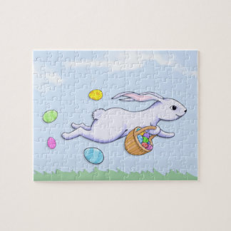 Easter Rabbit Run Jigsaw Puzzle