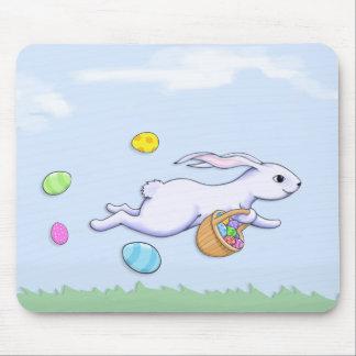 Easter Rabbit Run Mousepad