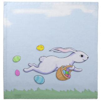 Easter Rabbit Run Napkin