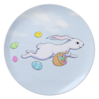 Easter Rabbit Run Plate