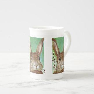 Easter Rabbit Tea Cup