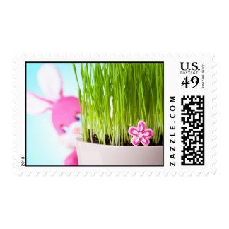 Easter Rabbit Stamp