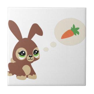 easter rabbit tile